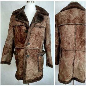 Sears Leather Shop  42T Sheepskin Coat